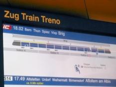 Umsteigen in Bern