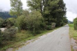 Rhone-Radweg bei Gampel-Bratsch