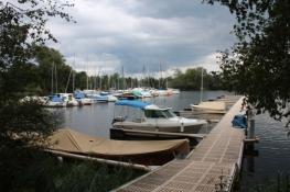 Hafen am Genfer See