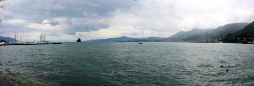 Genfer See vom Ostufer