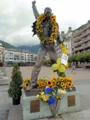 Montreux, Denkmal an Freddy Mercury