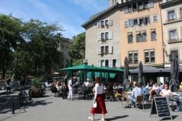 Genf, Platz in der Altstadt