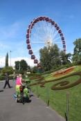 Genf, Riesenrad im Jardin Anglais
