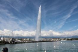 Genf, Jet dʹEau