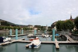 An der Rhône in Seyssel