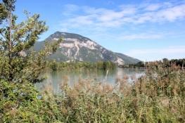 An der Rhône vor Chanaz