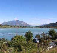 Lac du Lit au Roi, Staustufe und See der Rhône