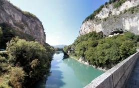 Rhône-Schlucht bei La Balme