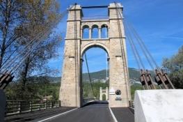 Rhône-Brücke bei Groslée