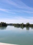 Rhône bei Groslée