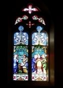 Fenster der Kirche Saint-Symphorien in Morestel