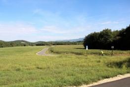 Rhône-Radweg hinter dem Etang de Praille