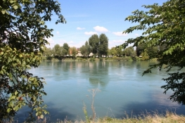 Rhône bei Loyettes