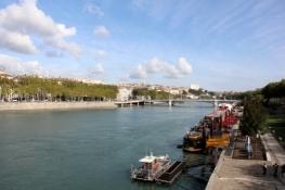 Rhône in Lyon