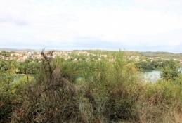 Über dem Rhône-Tal zwischen Ternay und Givors