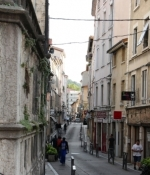 Vienne, Gasse in der Altstadt