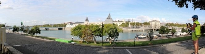 Panorama von Lyon