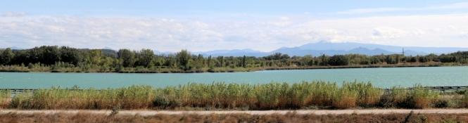 Le Plan dʹeau Li Piboulo nahe Piolenc