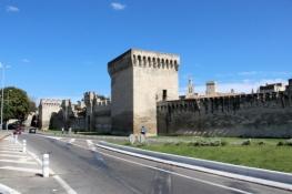 Avignon, Stadtmauer