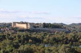Avignon, Festung Villeneuve vom Rocher des Doms