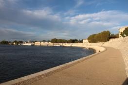 Arles, am Rhône-Kai