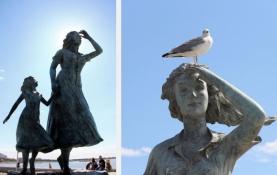 Le Grau-du-Roi, Denkmal ʺHommage aux femmes de Camargueʺ