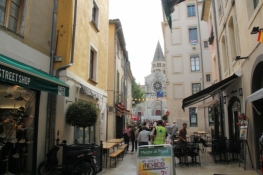 Nîmes, Altstadtgasse