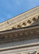 Nîmes, Maison Carrée, Detail