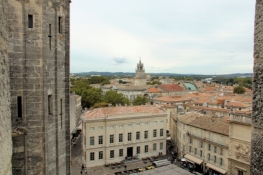 Avignon, vom Dach des Papst-Palastes