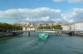 Lyon, Saône