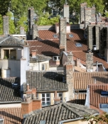 Vieux Lyon, Dächer