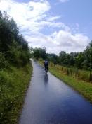 Unterwegs auf dem Kyll-Radweg