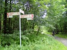 Endpunkt des Lahn-Radweges