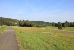 Mainradweg bei Unterobsang