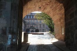 Plassenburg, Haupttor und Unterer Hof