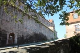 Plassenburg, Auffahrt zum Schönen Hof