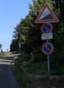 Weg zur Plassenburg