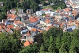 Kulmbach von der Plassenburg