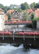 Bamberg, Regnitz von der Rathausbrücke
