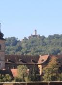 Bamberg, Alte Burg und St. Jacob vom Kloster Michaelsberg