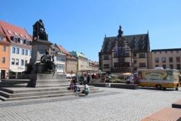 Schweinfurt, Marktplatz und Rathaus