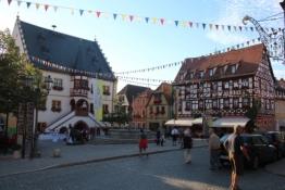 Volkach, Rathaus und Bürgerhäuser