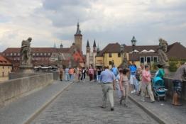 Würzburg von der Alten Mainbrücke