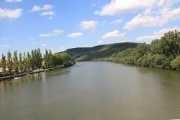 Main von der Brücke bei Veitshöchheim