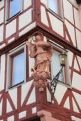 Karlstadt, Hausdetail in der Hauptstraße