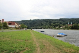 Main-Radweg bei Erlach