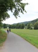 Main-Radweg zwischen Erlach und Zimmern