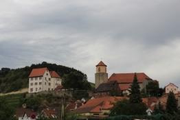 Homburg mit Schloss und Stadtkirche