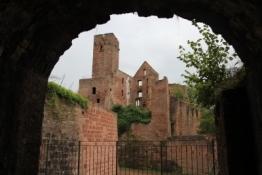 Wertheim, in der Burg