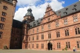 Aschaffenburg, Schloss Johannisburg, Innenhof